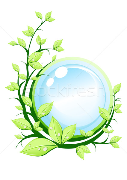 ecology-green-earth-concept Stock photo © pressmaster