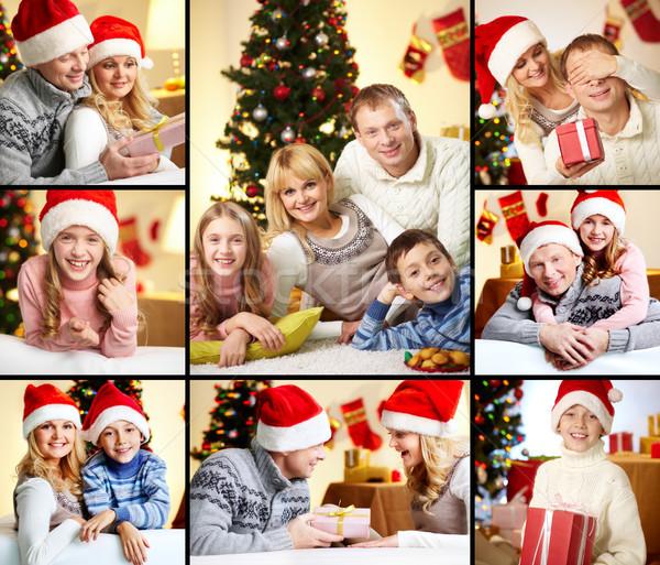 Family on Christmas Stock photo © pressmaster