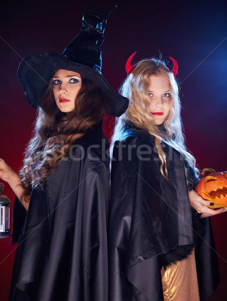 Witches in the dark Stock photo © pressmaster
