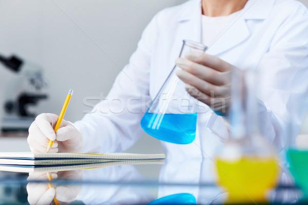 Investigating fluid Stock photo © pressmaster