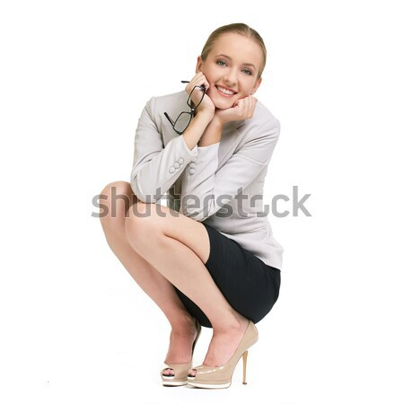 Woman in formalwear Stock photo © pressmaster