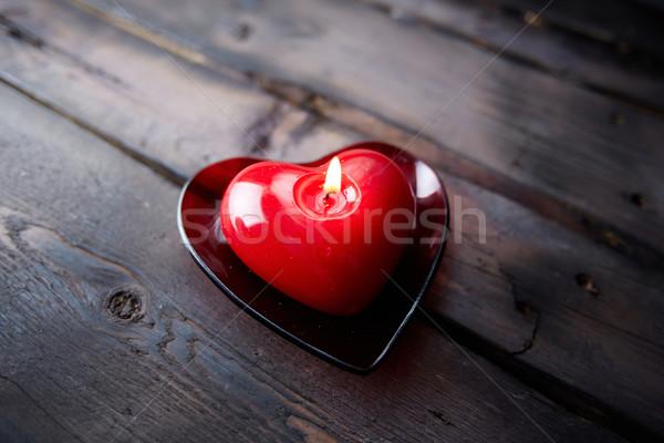 Fragrância amor imagem vermelho coração Foto stock © pressmaster