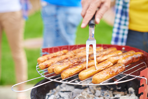 Tasty barbecue Stock photo © pressmaster