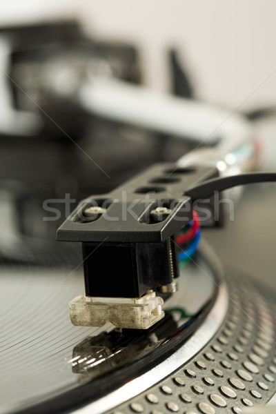 Music reproduction Stock photo © pressmaster