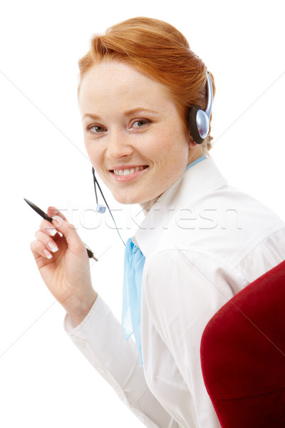 How can I help you? Stock photo © pressmaster