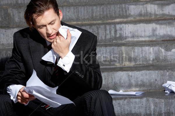 Thinking man Stock photo © pressmaster