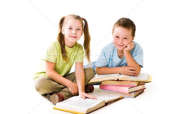 Pupils Stock photo © pressmaster