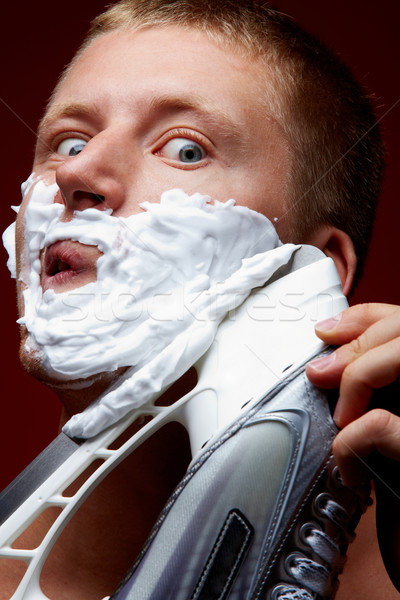 Masculine hygiene Stock photo © pressmaster