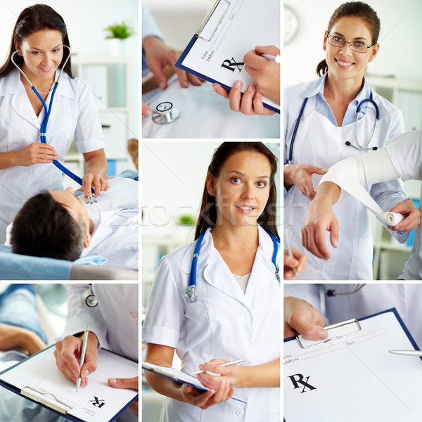 Patient and doctor Stock photo © pressmaster