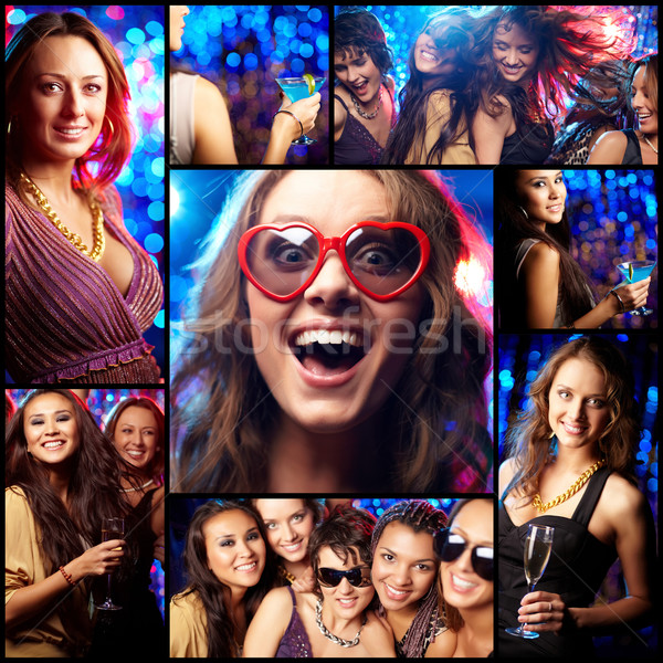 Cool clubbers Stock photo © pressmaster