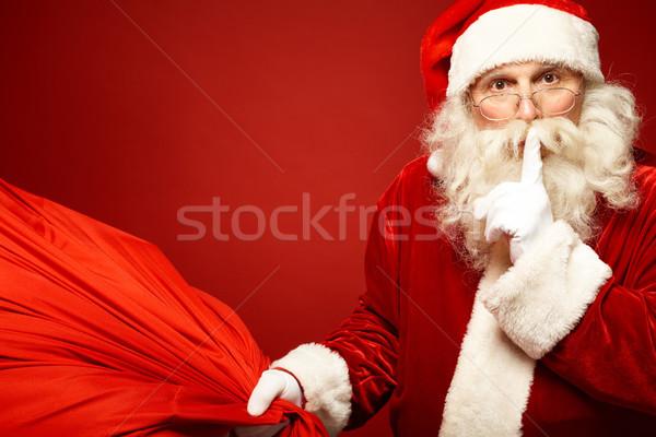 Shhh Stock photo © pressmaster