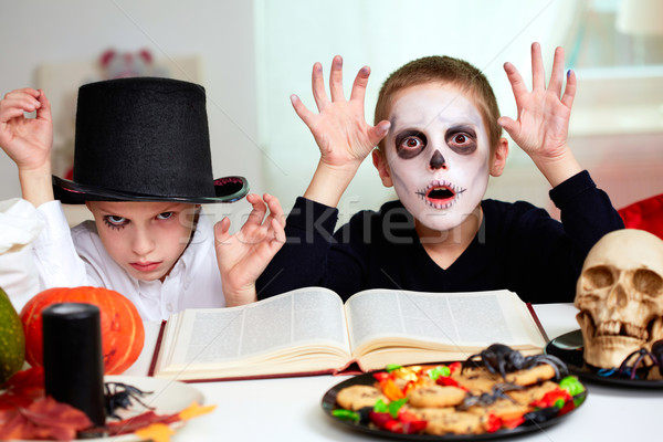 Halloween sorcery Stock photo © pressmaster
