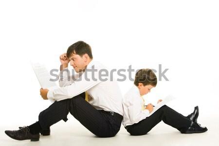 Stock photo: Intellectual work