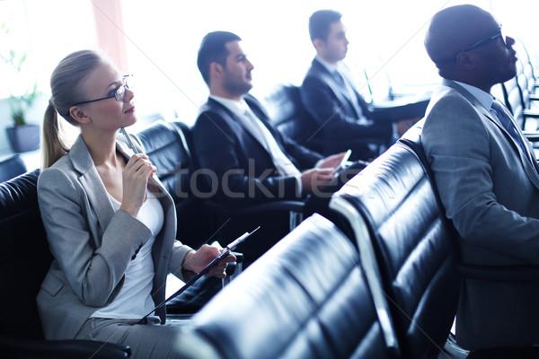Negócio seminário imagem pessoas de negócios homem Foto stock © pressmaster