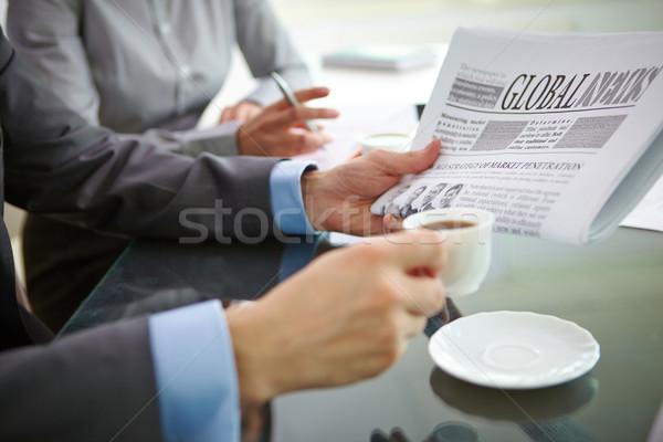 Start of working day Stock photo © pressmaster