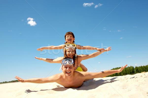 Playful people Stock photo © pressmaster