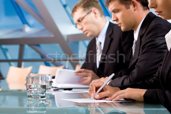 Foto stock: Pessoas · trabalhar · sério · pessoas · de · negócios