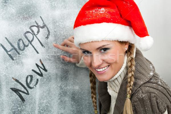 Santa girl Stock photo © pressmaster