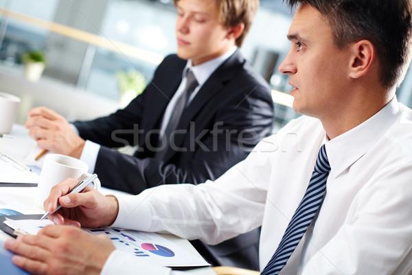 Boss at meeting  Stock photo © pressmaster