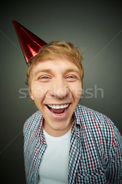 Hilarious boy Stock photo © pressmaster