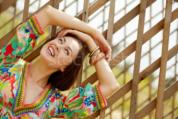 Cheerful woman Stock photo © pressmaster