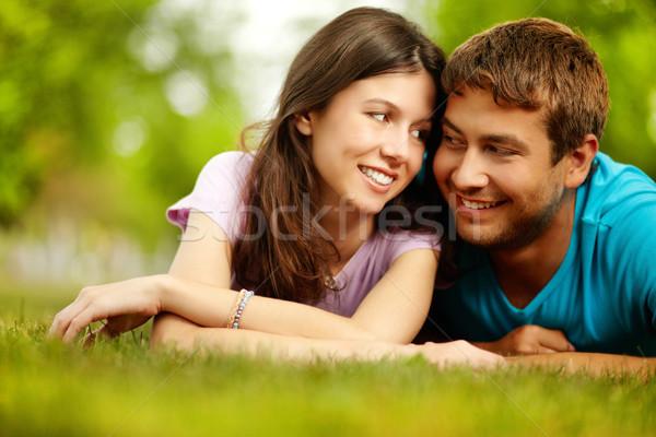 Relaxed sweethearts Stock photo © pressmaster