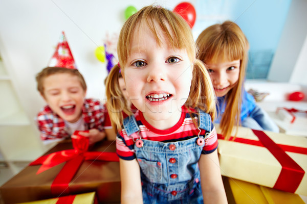 Stock photo: Having party