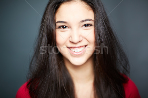 Cheerful girl Stock photo © pressmaster
