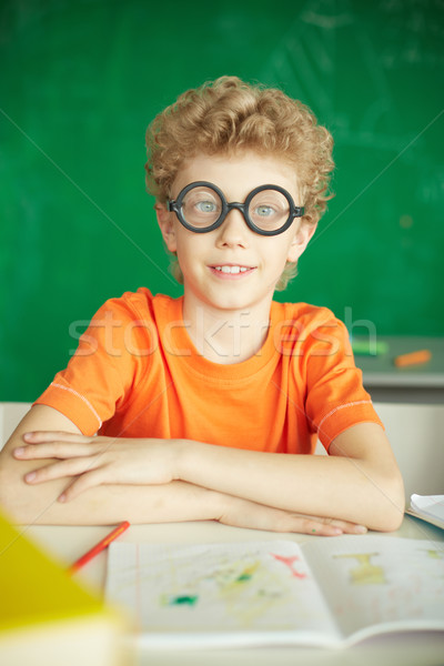 Stock photo: Diligent learner