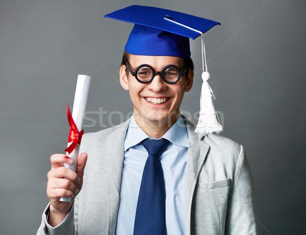 Smart graduate Stock photo © pressmaster