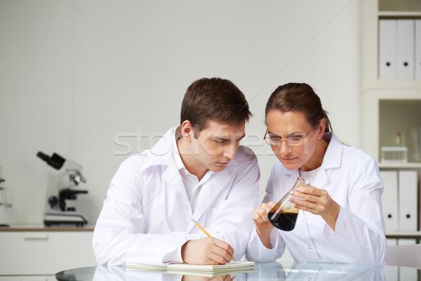 Analyzing substance Stock photo © pressmaster