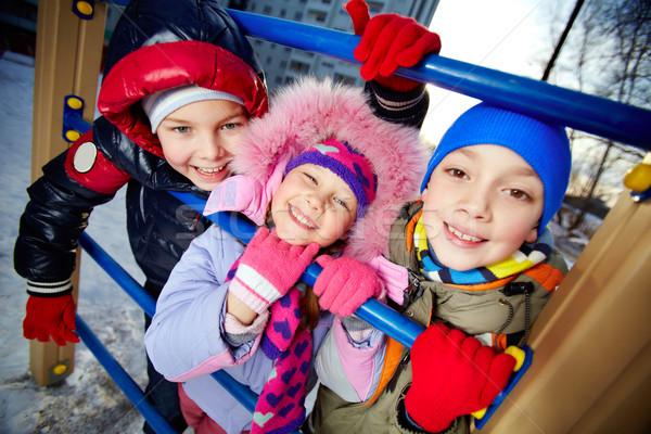 Friends on playground Stock photo © pressmaster