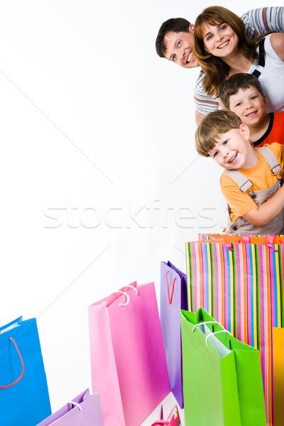 Blijde mensen afbeelding blij familie naar Stockfoto © pressmaster