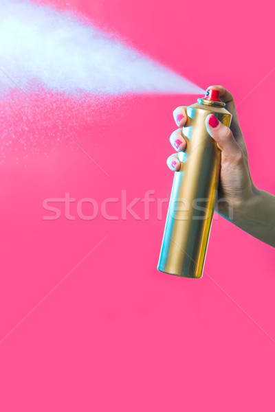 Stock photo: Hair spray