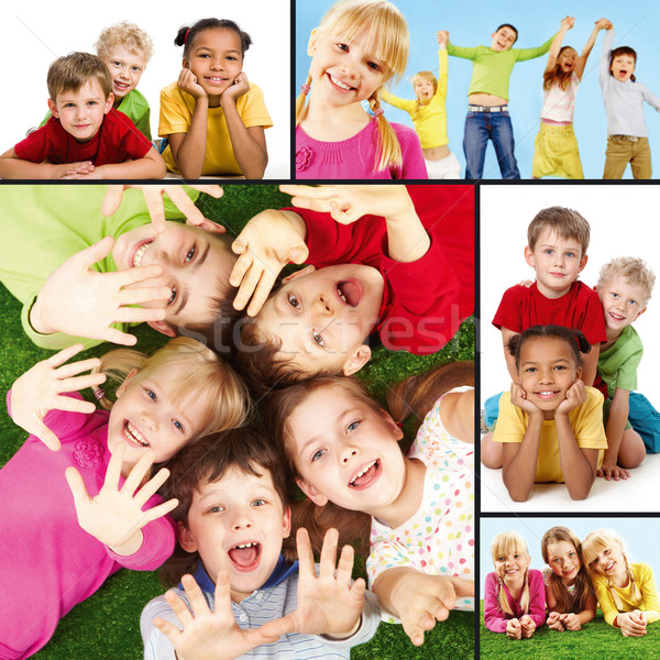 Joyful children Stock photo © pressmaster