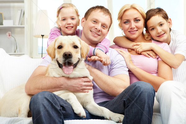 Happy family Stock photo © pressmaster