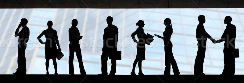 Business group Stock photo © pressmaster