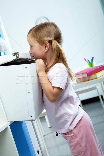 Curious kid Stock photo © pressmaster
