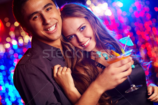 Couple of clubbers Stock photo © pressmaster