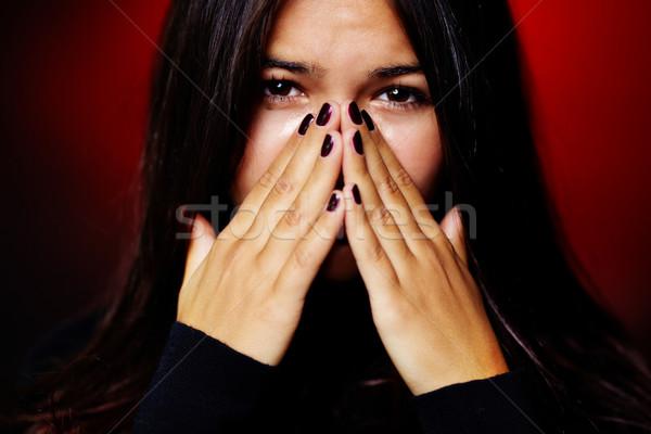 Girl crying Stock photo © pressmaster