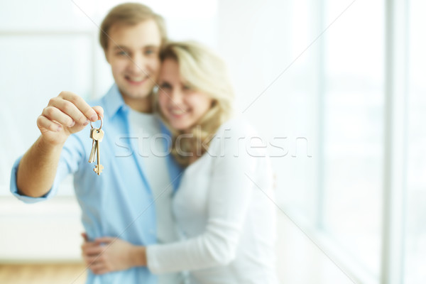 Key to new flat Stock photo © pressmaster