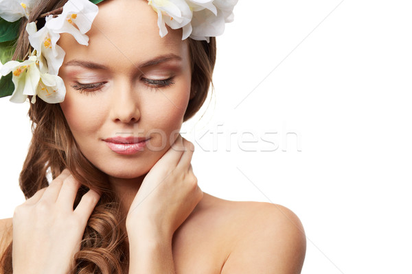 Pretty lady Stock photo © pressmaster