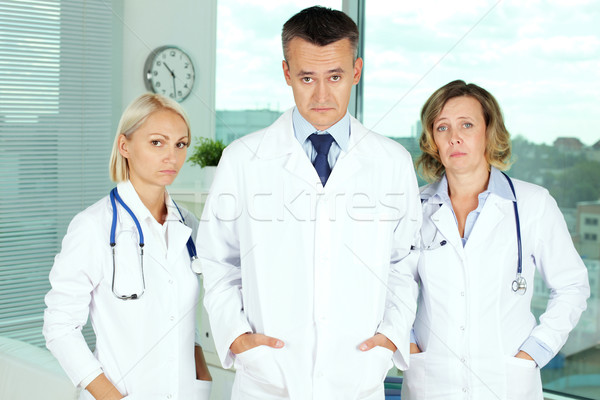 Pessimistic doctors Stock photo © pressmaster
