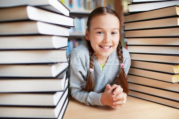 Book lover Stock photo © pressmaster