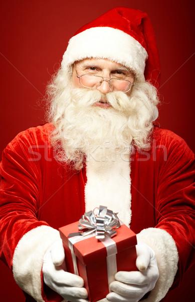クリスマス 現在 写真 サンタクロース クリスマス 見える ストックフォト © pressmaster