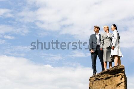 новых портрет деловые люди Постоянный огромный Сток-фото © pressmaster