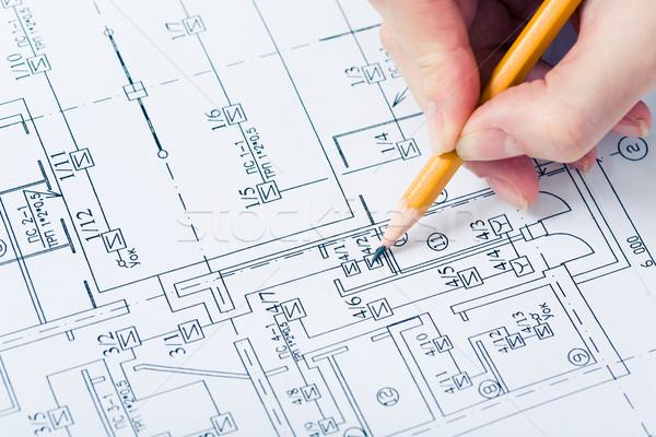 Drawing chart Stock photo © pressmaster