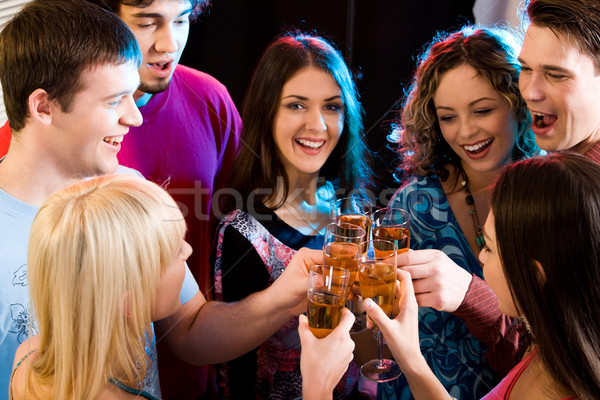 Making a toast Stock photo © pressmaster
