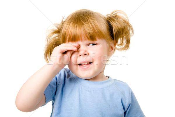 плачу ребенка портрет небольшой девушки слез Сток-фото © pressmaster