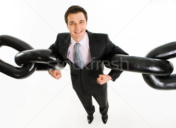 Robust link Stock photo © pressmaster